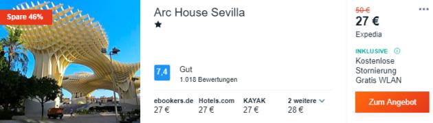 3 Tage Sevilla Hotel