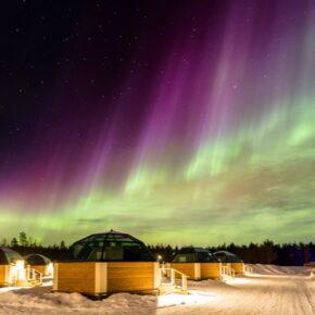 Polarlichter: 5 Tage Finnland im 4* Hotel & Glas-Iglu mit Frühstück, Flug, Transfer & vielen Extras nur 1.299€