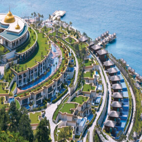 Luxus: 7 Tage Bodrum im TOP 5* Paramount Hotel mit All Inclusive, Flug & Transfer nur 800€