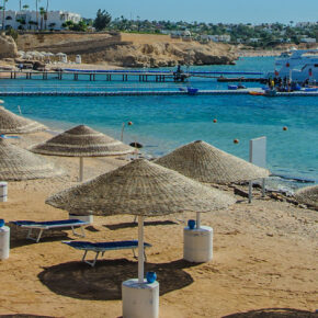 Ägypten: 7 Tage im TOP 5* Hotel in Hurghada mit All Inclusive, Flug, Transfer & Zug nur 382€