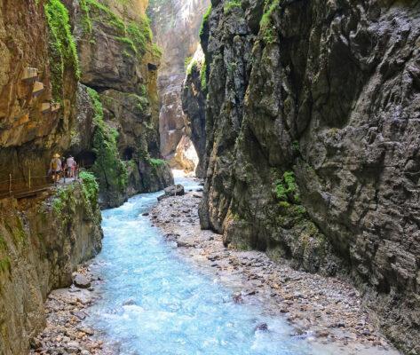 Alpen Partnachklamm