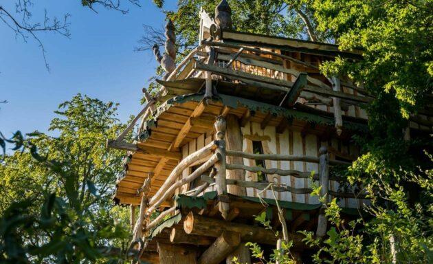 Baumhaus Kriebstein außen
