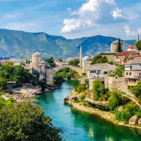 Aktivurlaub: Flüge nach Bosnien & Herzegowina nur 7€