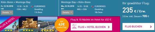 Köln nach Jamaika