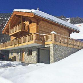 Luxus in der Schweiz: 8 Tage im eigenen Chalet mit Whirlpool für 214€