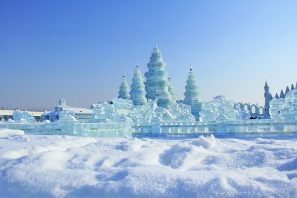 China Harbin Ice World Blau
