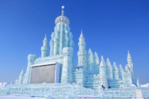 China Harbin Ice World Schloss