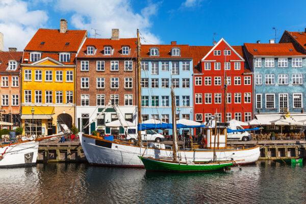 Daenemark Kopenhagen Hafen