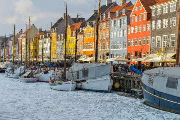 Dänemark Kopenhagen Winter