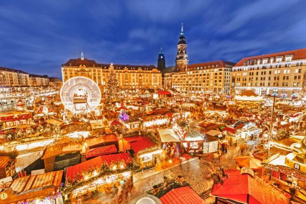 Dresden Weihnachtsmarkt Striezelmarkt