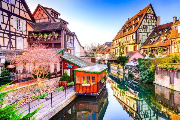 Frankreich Colmar Ufer