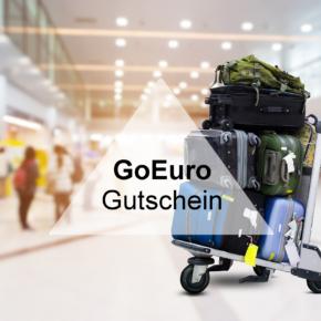 GoEuro Gutschein: Spart 15 % auf Eure Bahn- & Flugverbindung
