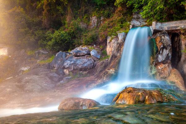 Griechenland Loutra Quelle