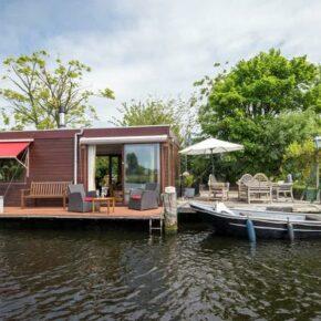 Urlaub in Haarlem: 8 Tage auf Hausboot an der Spaarne für 201€