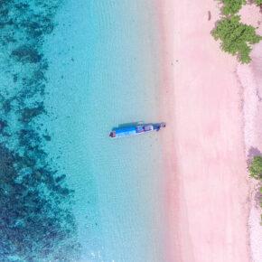 Indonesien Komodo Pink Beach