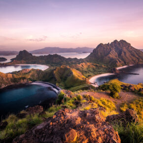 Indonesien Komodo Sonnenaufgang