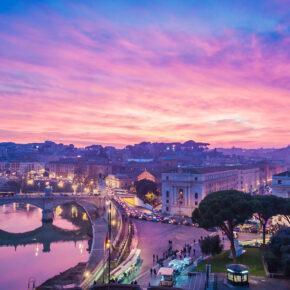 Wochenende in Italien: 3 Tage Rom im 4* Hotel mit Flug nur 80€