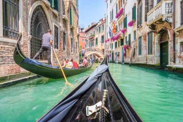 Italien Venedig Gondel