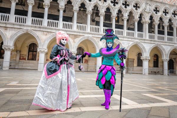 Italien Venedig Karneval