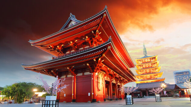 japan tokyo asakusa temple