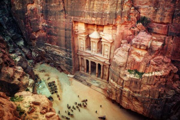Jordanien Petra oben