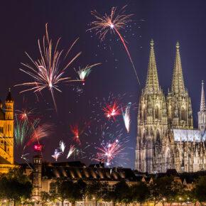 Silvester in Köln feiern: 2 Tage im modernen Apartment nur 24€