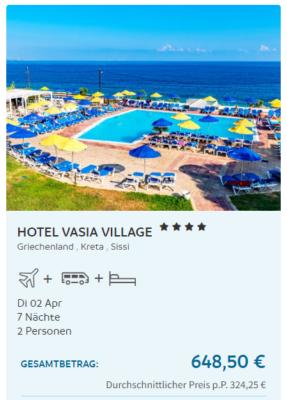 Kreta Vasia Village