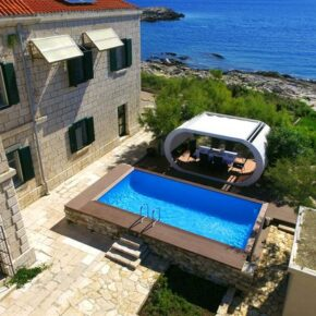Leuchtturm-Villa nur für Euch: 6 Tage Kroatien mit eigenem Strand, Pool & mehr ab 288€ p.P.