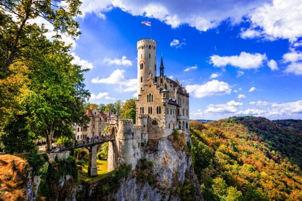 Lichtenstein Schloss Herbst