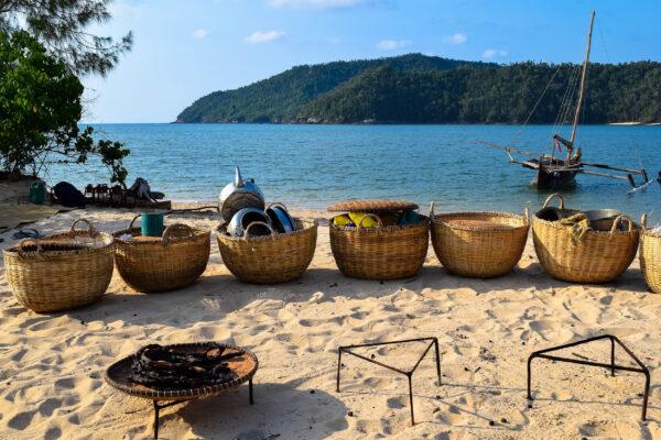 Madagaskar Essen Strand