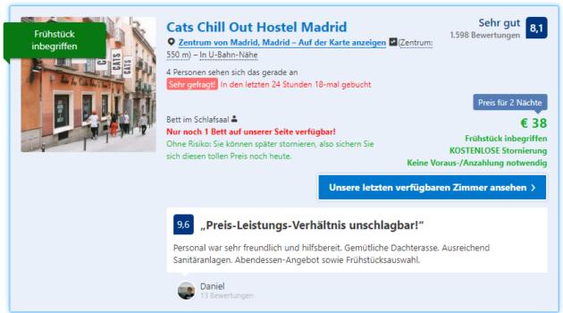Madrid Hostel