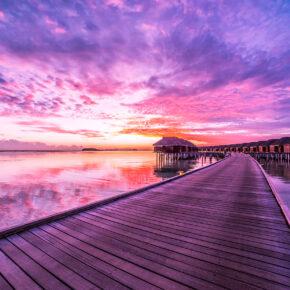 Ab ins Paradies: 14 Tage Malediven in Unterkunft mit Frühstück & Flug nur 737€