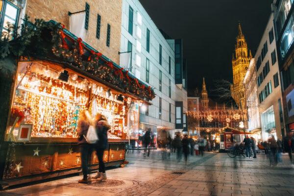 München Marienplatz Weihnachtsmarkt