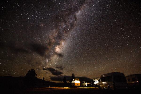 neuseeland campervan milkyway