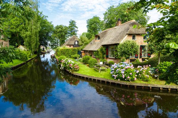 Niederlande Gietrhoorn Kanal