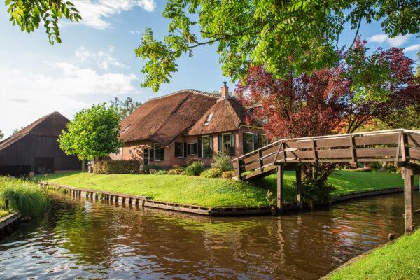 Niederlande Gietrhoorn Sommer