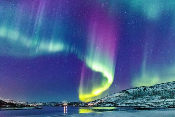 Norwegen Aurora Borealis