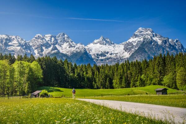 Österreich Berge Schnee