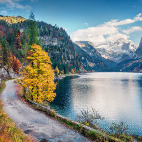 Herbstwochenende in Österreich: 3 Tage am Gosausee mit Unterkunft & Frühstück nur 46€