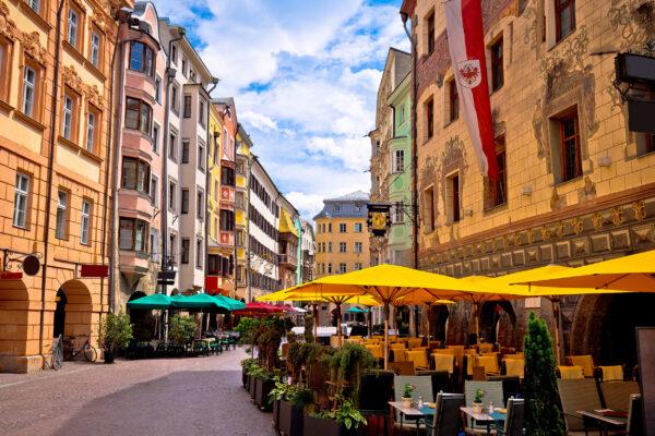 Österreich Innsbruck Cafe