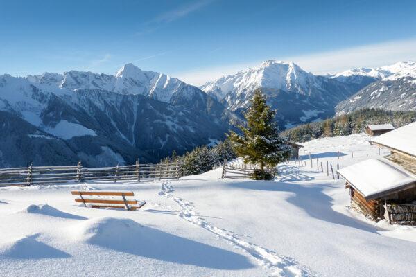 Österreich Alpen Winter Tirol
