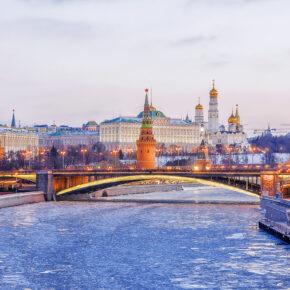 Wochenende in Moskau: 3 Tage mit Unterkunft & Flug nur 110€