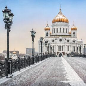 Moskau: 4 Tage Städtetrip mit zentraler Unterkunft, Frühstück & Flug für 76€