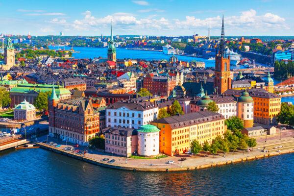 Schweden Stockholm Gamla Stan Bunt