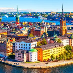 Schweden-Flüge: Stockholm oneway nur 8€