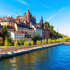 Ab nach Skandinavien: Flüge nach Dänemark, Schweden, Norwegen & Island ab 2€