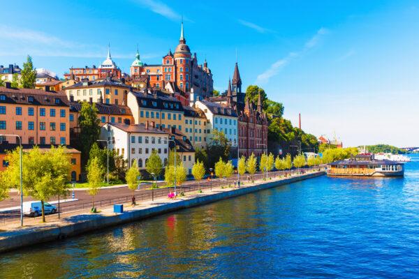 Schweden Stockholm Pier
