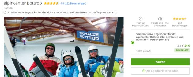 Skihalle Bottrop Gutschein