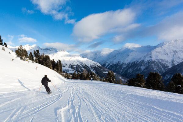 Skipiste Winter