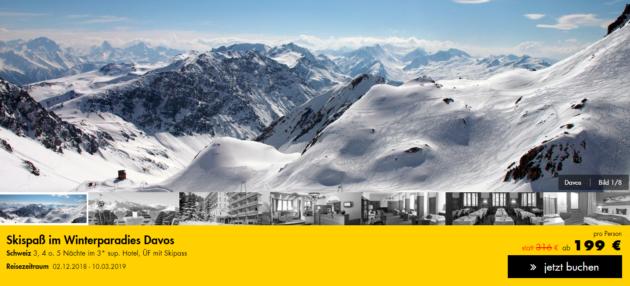 Skiurlaub Davos